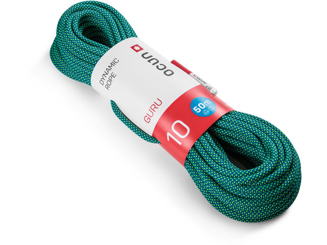 Ocun Guru Rope 10mm x 50m, azul/verde